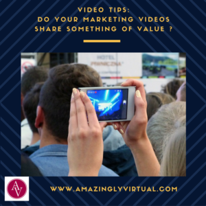 Share Value on Your Videos